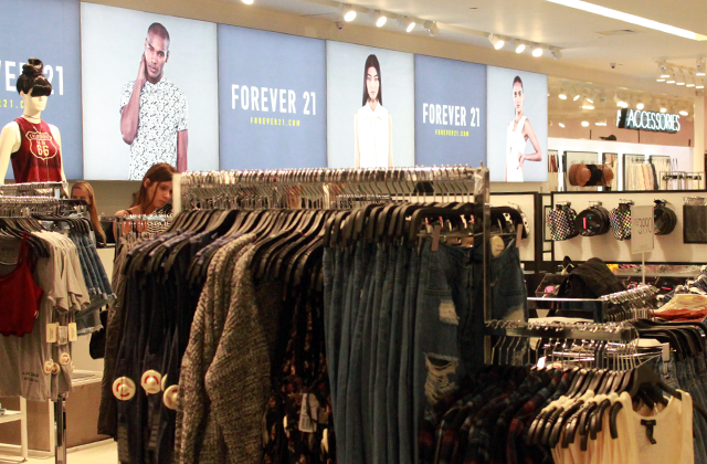 forever 21 marketing mix Forever 21's awesome business strategy  skimping on menswear and only  offering basics, forever 21 provides a good mix of merchandise.