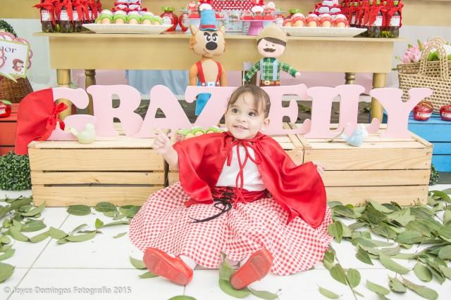 Aniversário Chapeuzinho Vermelho