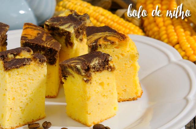 Comidas típicas bolo de milho