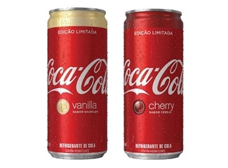 1711937bb2 Coca-Cola lança sabores cereja e baunilha no Brasil