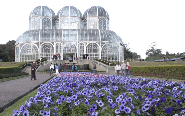 curitiba jardim botanico