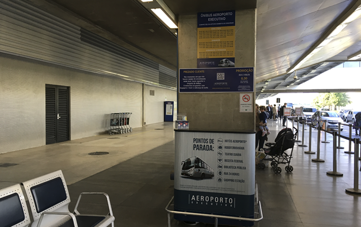 onibus aeroporto executivo curitiba