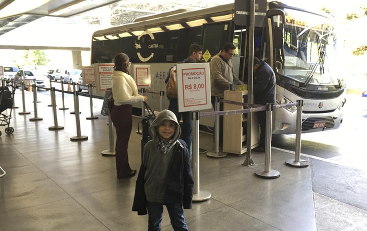 onibus aeroporto curitiba