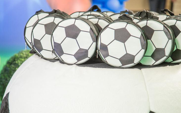 sacolinha bola de futebol