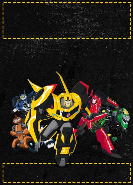 Convite Transformers Baixe O Arquivo Gratuitamente
