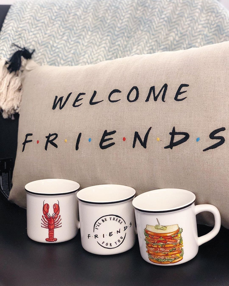 friends e pottery barn